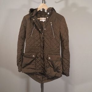 BCBGeneration Coat with Detachable Hood